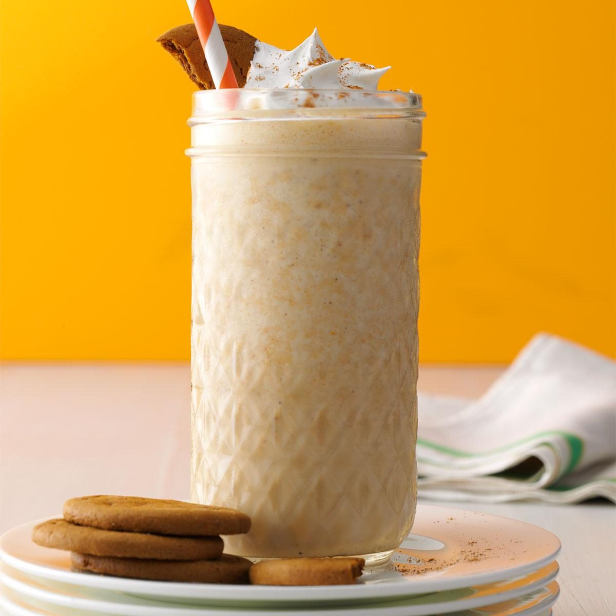 Spiced Pumpkin Coffee Shakes