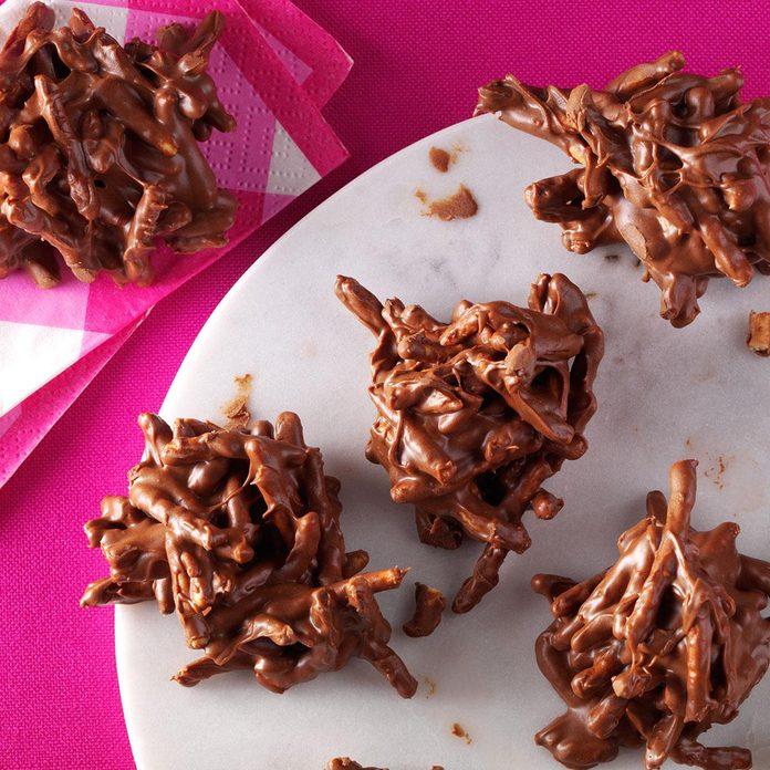 Chocolate Butterscotch Haystacks