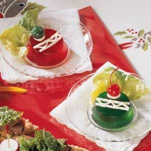 Gelatin Christmas Ornaments