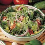 Tomato Parmesan Salad