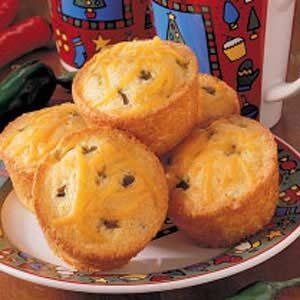Green Chili Corn Muffins