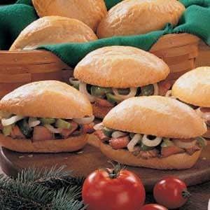 Pepper Steak Sandwiches