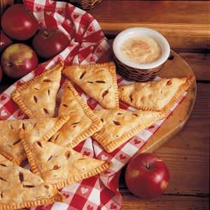 Apple Turnovers with Custard