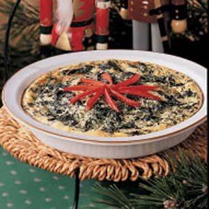 Spinach Swiss Pie