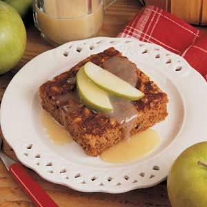 Saucy Apple Cake