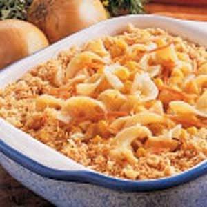 Creamy Corn and Noodle Casserole