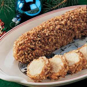 Holiday Pecan Logs