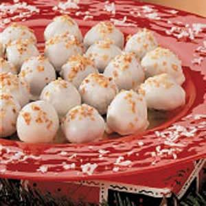 Toasted Coconut Truffles