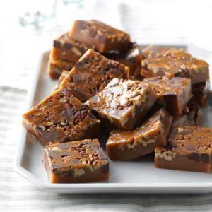 Chocolate Pecan Caramels