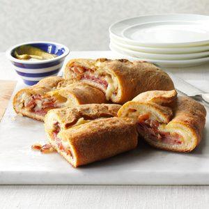 Ham & Swiss Stromboli