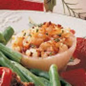 Potato-Stuffed Onions