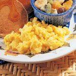 Scrambled Homemade Egg Substitute