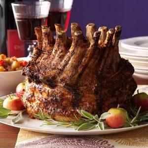 Holiday Crown Pork Roast