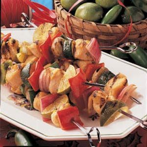 Turkey Lime Kabobs
