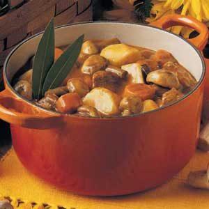 Quick Mushroom Stew