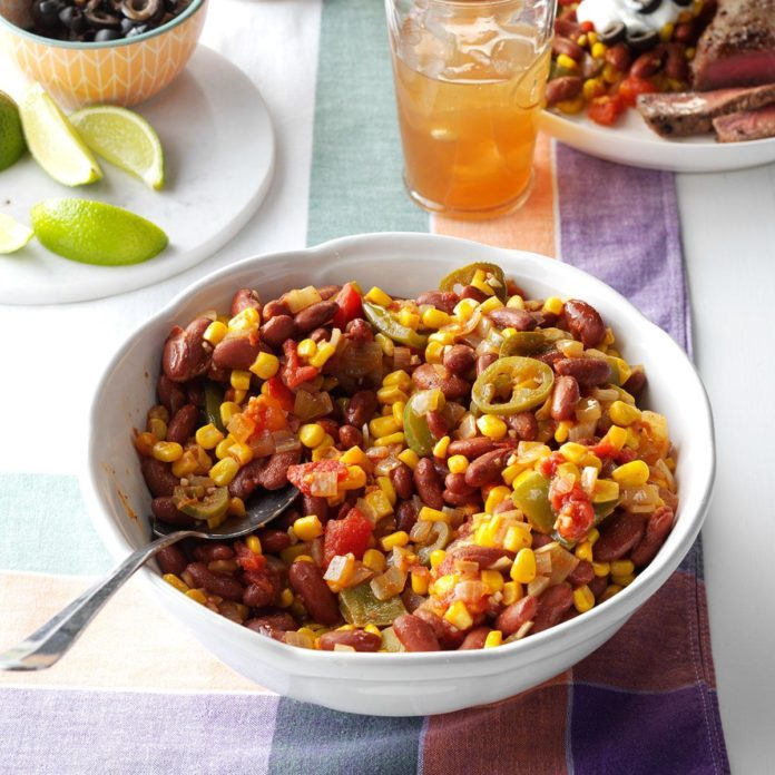 Fiesta Corn and Beans