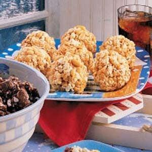 Caramel Popcorn Balls