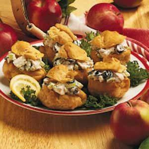 Chicken Salad Puffs