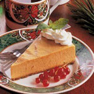 Pumpkin Chiffon Torte
