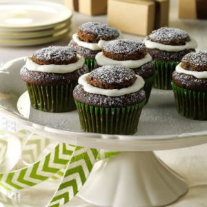 Chocolate Gingerbread Cupcakes