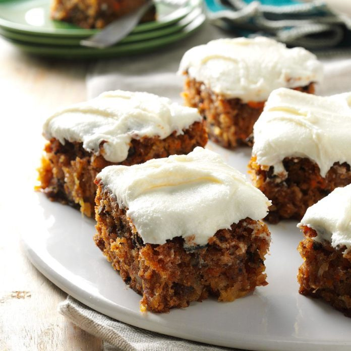 Now: Tropical Carrot Cake