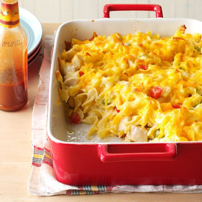 Arkansas: Chicken Noodle Casserole
