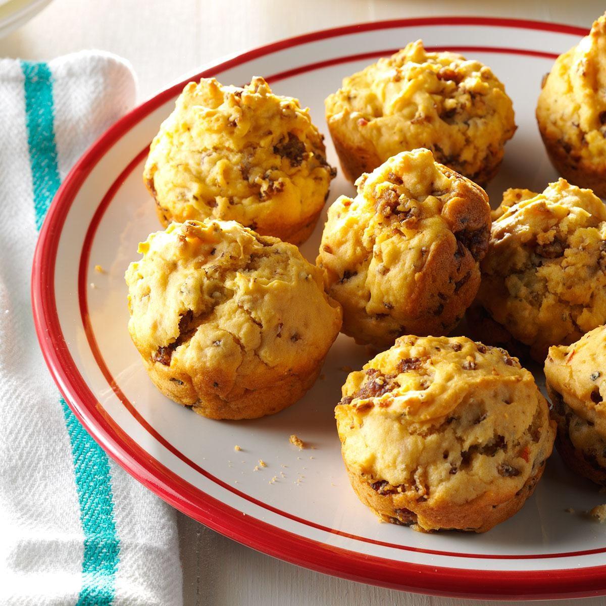 Sausage Cheese Muffins