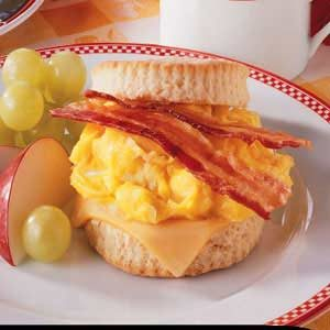 Bacon 'n' Egg Biscuits