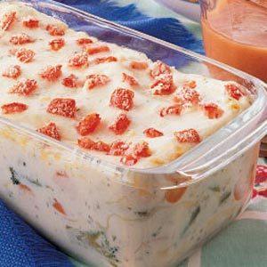 Vegetarian Lasagna Loaf