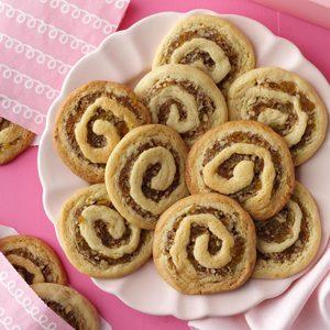 Apricot Pinwheel Cookies