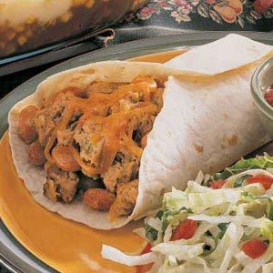 Meat Loaf Burritos