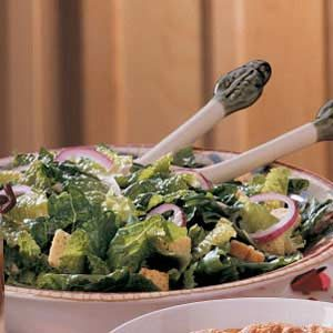 Flavorful Lemony Caesar Salad