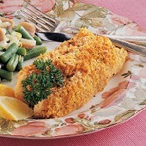 Herb-Coated Cod
