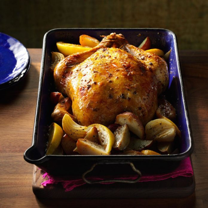 Lemon & Sage Roasted Chicken