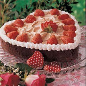 Valentine Berries and Cream