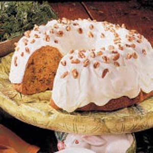 Pecan Carrot Bundt Cake