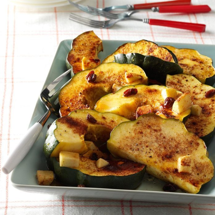 Maple-Glazed Squash
