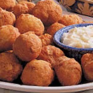 Puffs with Honey Butter