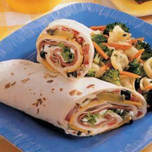 Deli Vegetable Roll-Ups