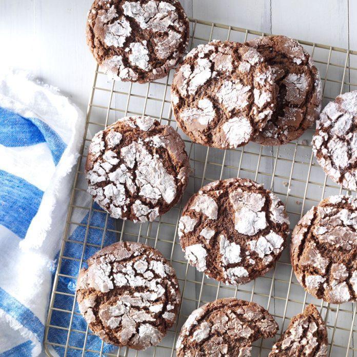 Mexican Crinkle Cookies
