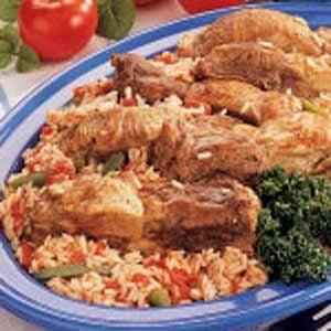 Italian Ribs and Rice