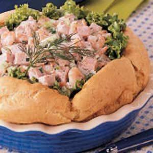 Ham Salad Puff