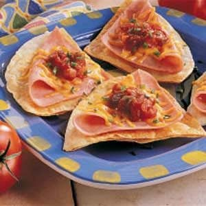 Ham N Cheese Tortillas