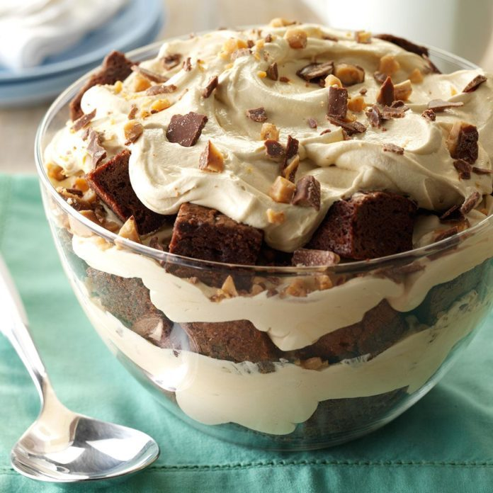 Brownie Mocha Trifle