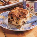 Raisin Buttermilk Coffee Cake
