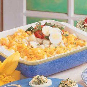 Potato Egg Supper