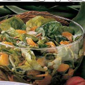 Orange Lettuce Salad