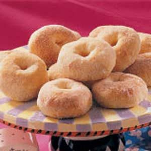 No-Fry Potato Doughnuts