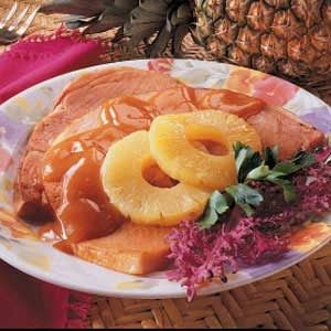 Glazed Ham Slice