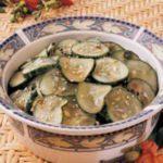 Fresh Sesame Cucumber Salad